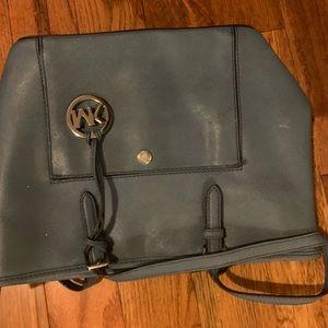 Michael Kors Blue Medium Handbag